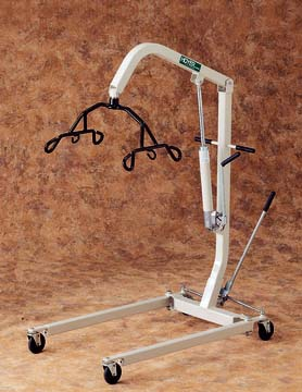 Hoyer Hydraulic Patient Lifter, 6-Point Cradle, Tan